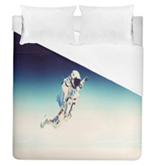 Astronaut Duvet Cover (queen Size) by Simbadda