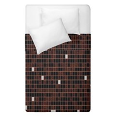 Cubes Small Background Duvet Cover Double Side (single Size) by Simbadda