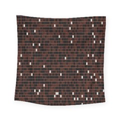 Cubes Small Background Square Tapestry (small) by Simbadda