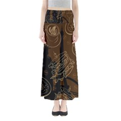 Coffe Break Cake Brown Sweet Original Maxi Skirts by Alisyart