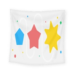 Evolution Jumsoft Star Square Tapestry (small) by Alisyart