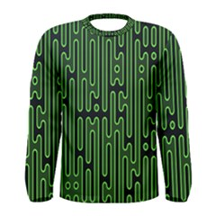 Pipes Green Light Circle Men s Long Sleeve Tee
