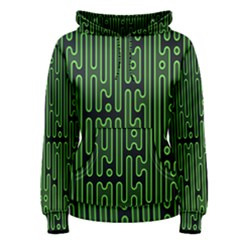 Pipes Green Light Circle Women s Pullover Hoodie