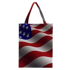 Flag United States Stars Stripes Symbol Classic Tote Bag