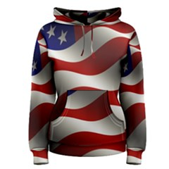 Flag United States Stars Stripes Symbol Women s Pullover Hoodie