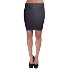 Leather Stitching Thread Perforation Perforated Leather Texture Bodycon Skirt