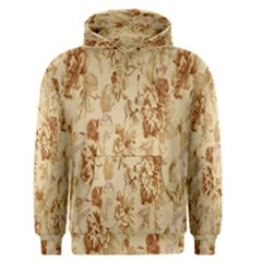 Patterns Flowers Petals Shape Background Men s Pullover Hoodie