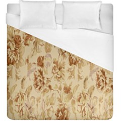 Patterns Flowers Petals Shape Background Duvet Cover (king Size) by Simbadda