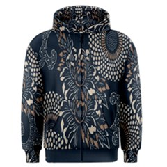Patterns Dark Shape Surface Men s Zipper Hoodie