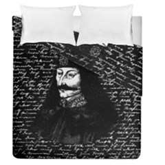 Count Vlad Dracula Duvet Cover Double Side (queen Size) by Valentinaart