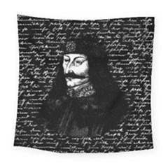 Count Vlad Dracula Square Tapestry (large)