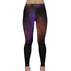 Point Light Luster Surface Classic Yoga Leggings by Simbadda