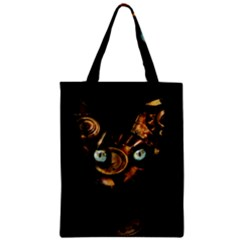 Sphynx Cat Zipper Classic Tote Bag by Valentinaart