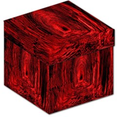 Tunnel Red Black Light Storage Stool 12   by Simbadda