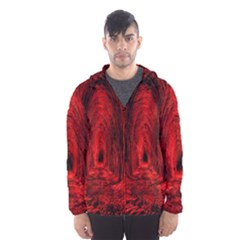 Tunnel Red Black Light Hooded Wind Breaker (men)