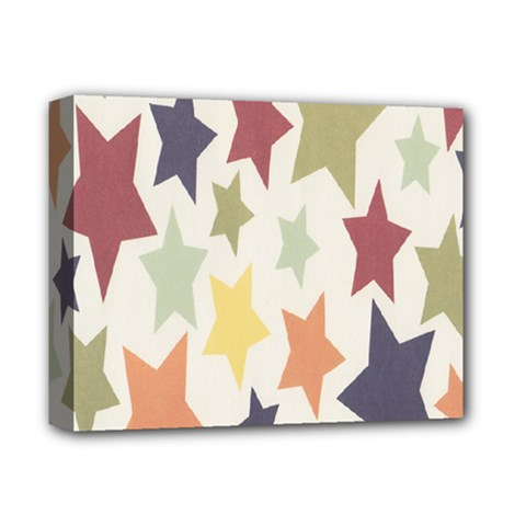 Star Colorful Surface Deluxe Canvas 14  X 11  by Simbadda