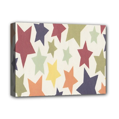 Star Colorful Surface Deluxe Canvas 16  X 12