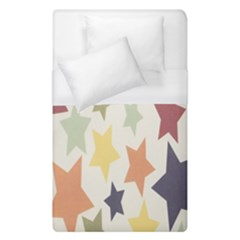 Star Colorful Surface Duvet Cover (single Size)