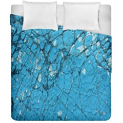 Surface Grunge Scratches Old Duvet Cover Double Side (california King Size)