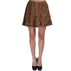 Texture Background Rust Surface Shape Skater Skirt