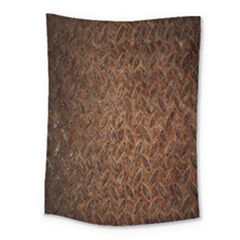 Texture Background Rust Surface Shape Medium Tapestry by Simbadda