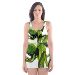 Mantis Skater Dress Swimsuit by Valentinaart