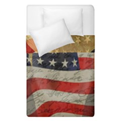 American President Duvet Cover Double Side (single Size) by Valentinaart