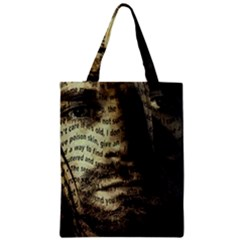 Kurt Cobain Zipper Classic Tote Bag by Valentinaart