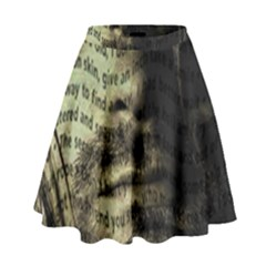 Kurt Cobain High Waist Skirt by Valentinaart