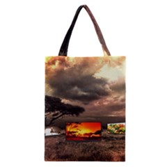 Africa Classic Tote Bag by Valentinaart
