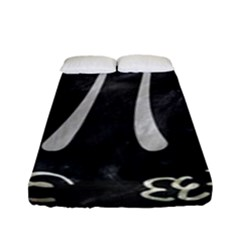 Pi Fitted Sheet (full/ Double Size) by Valentinaart