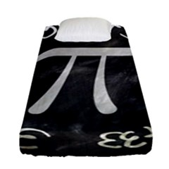 Pi Fitted Sheet (single Size) by Valentinaart