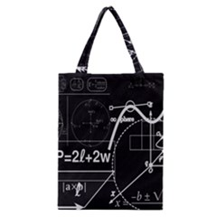 School Board  Classic Tote Bag by Valentinaart