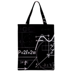 School Board  Zipper Classic Tote Bag by Valentinaart