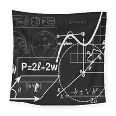 School Board  Square Tapestry (large)