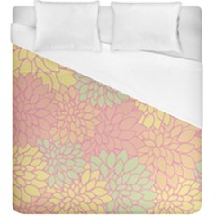 Floral Pattern Duvet Cover (king Size) by Valentinaart