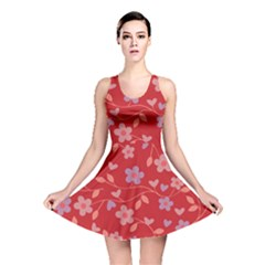 Floral pattern Reversible Skater Dress