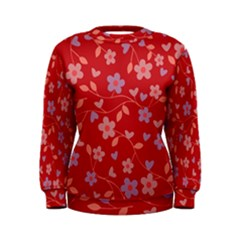 Floral pattern Women s Sweatshirt