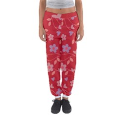 Floral pattern Women s Jogger Sweatpants