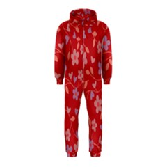 Floral pattern Hooded Jumpsuit (Kids)