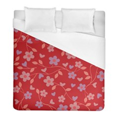 Floral pattern Duvet Cover (Full/ Double Size)