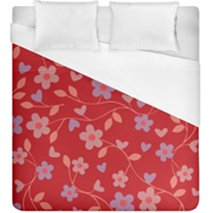 Floral pattern Duvet Cover (King Size)