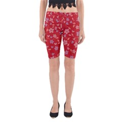Floral pattern Yoga Cropped Leggings