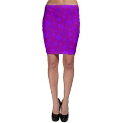 Floral Pattern Bodycon Skirt by Valentinaart
