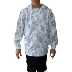 Floral Pattern Hooded Wind Breaker (kids) by Valentinaart