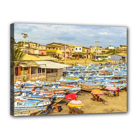 Engabao Beach At Guayas District Ecuador Canvas 16  X 12  by dflcprints