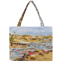 Engabao Beach At Guayas District Ecuador Mini Tote Bag by dflcprints