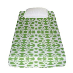 Pattern Fitted Sheet (single Size) by Valentinaart