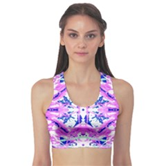 Bubblegum Dream Sports Bra by AlmightyPsyche
