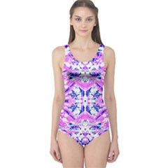 Bubblegum Dream One Piece Swimsuit by AlmightyPsyche